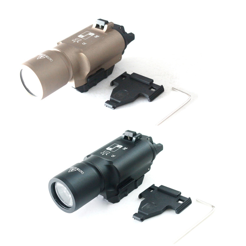 Tactical flashlight X300 LED Light for hunting accessories -Free Shipping