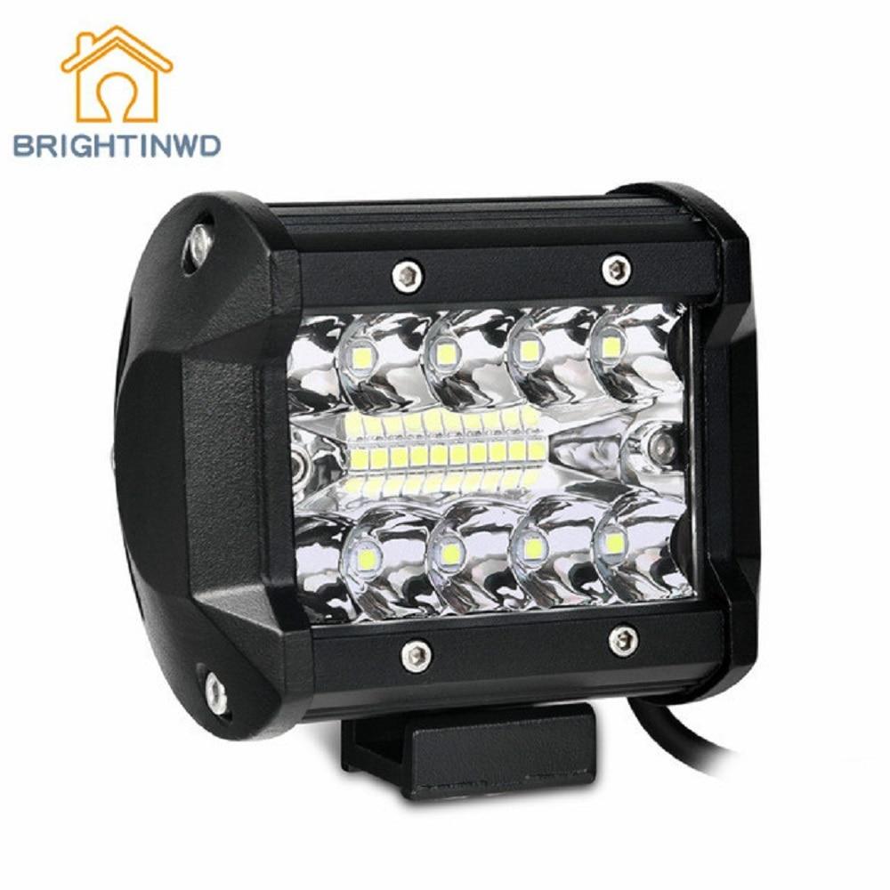 BRIGHTINWD 18W Car Work Light LED Spotlight Spot Lamp Waterproof Searchlight Truck Boating Hunting Fishiing Outdoor Lighting