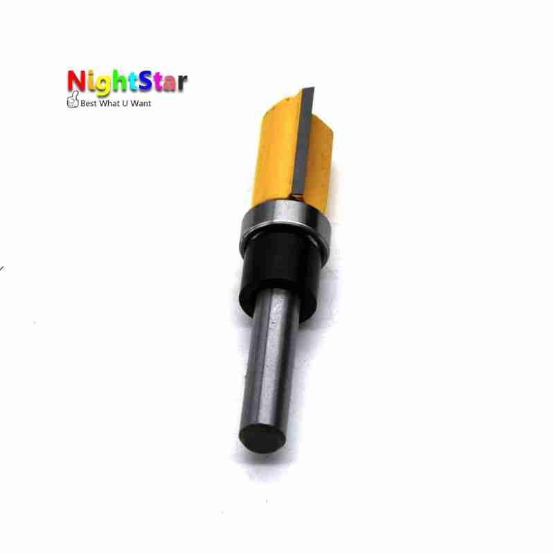 Flush Trim 1 / 2x3 / 4 hüvelykes útválasztó bit szárú csapágy - Fúrófej - Fénykép 4