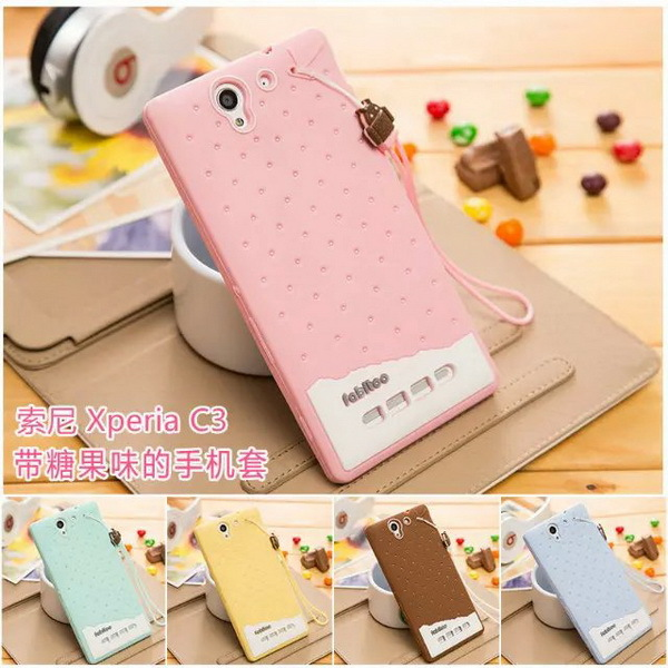 size 40 caaa7 349c6 US $5.28 |Fashion Girl Lady Woman Cute Cartoon Case for Sony C3 Back Cover  Soft Silicon Case for Sony Xperia C3 TPU Phone Case on Aliexpress.com | ...