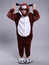 Cute cartoon zodiac dog Pajamas Onesies Winter Kawaii Anime Hoodie Pyjamas Cosplay Adult Onesie Christmas Costume