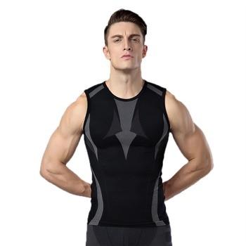 New Brand Gym Bodybuilding T shirt Men Fitness Sport T-shirt Tights Clothing Vest Men Compression Tank Tops Camisetas Hombre 1