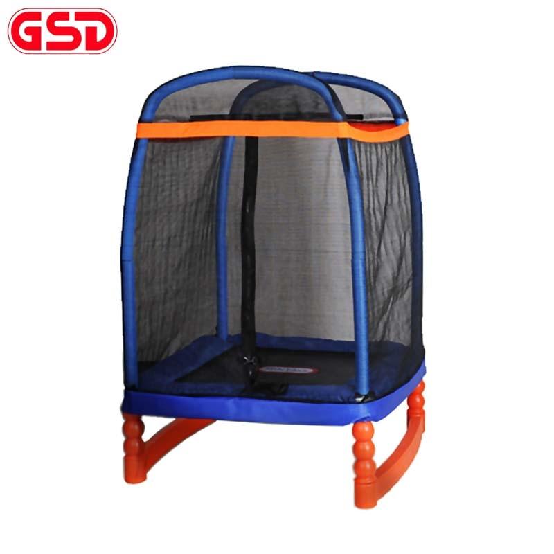 GSD Vysoce kvalitní trampolína pro děti 48 palců s bezpečnostním zámkem, skákání Max. Hmotnost 100kg, TUV-GS, schválení CE