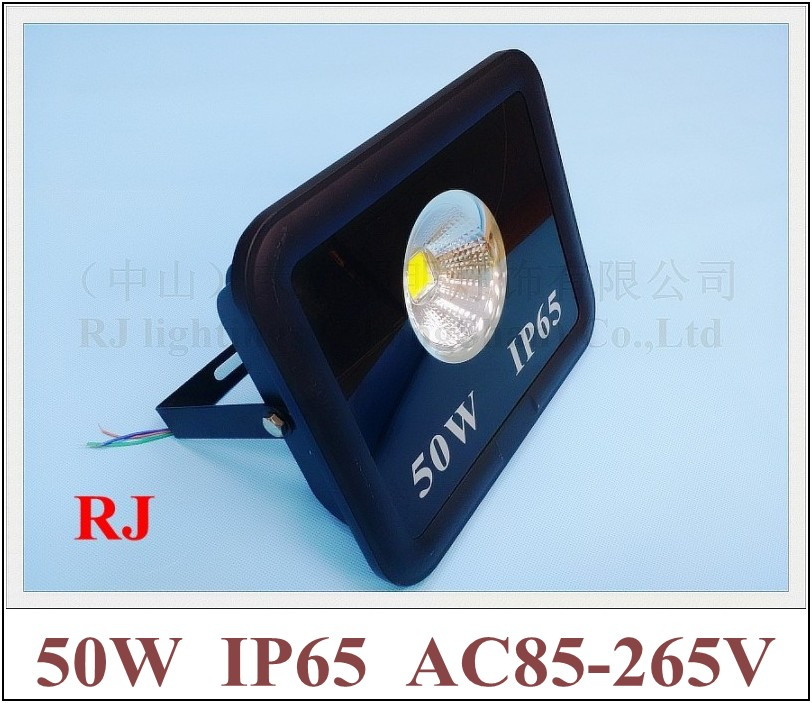 90 degree of emitting angle with cup shape reflector LED flood light floodlight spot light lamp 50W AC85-265V IP65 4000lm