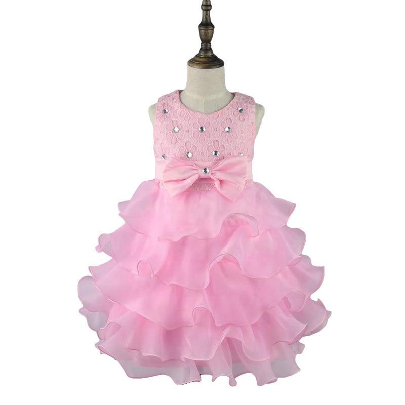 f8e8284e7692 2017 Summer Formal Kids Dress For 3 4 5 7 Years Old Girls Princess ...