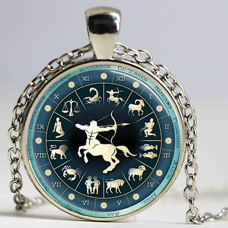 Zodiac Aries Pendant Astrological Sign The Ram Jewelry Aries Astrological Symbol statement necklace 2015 free