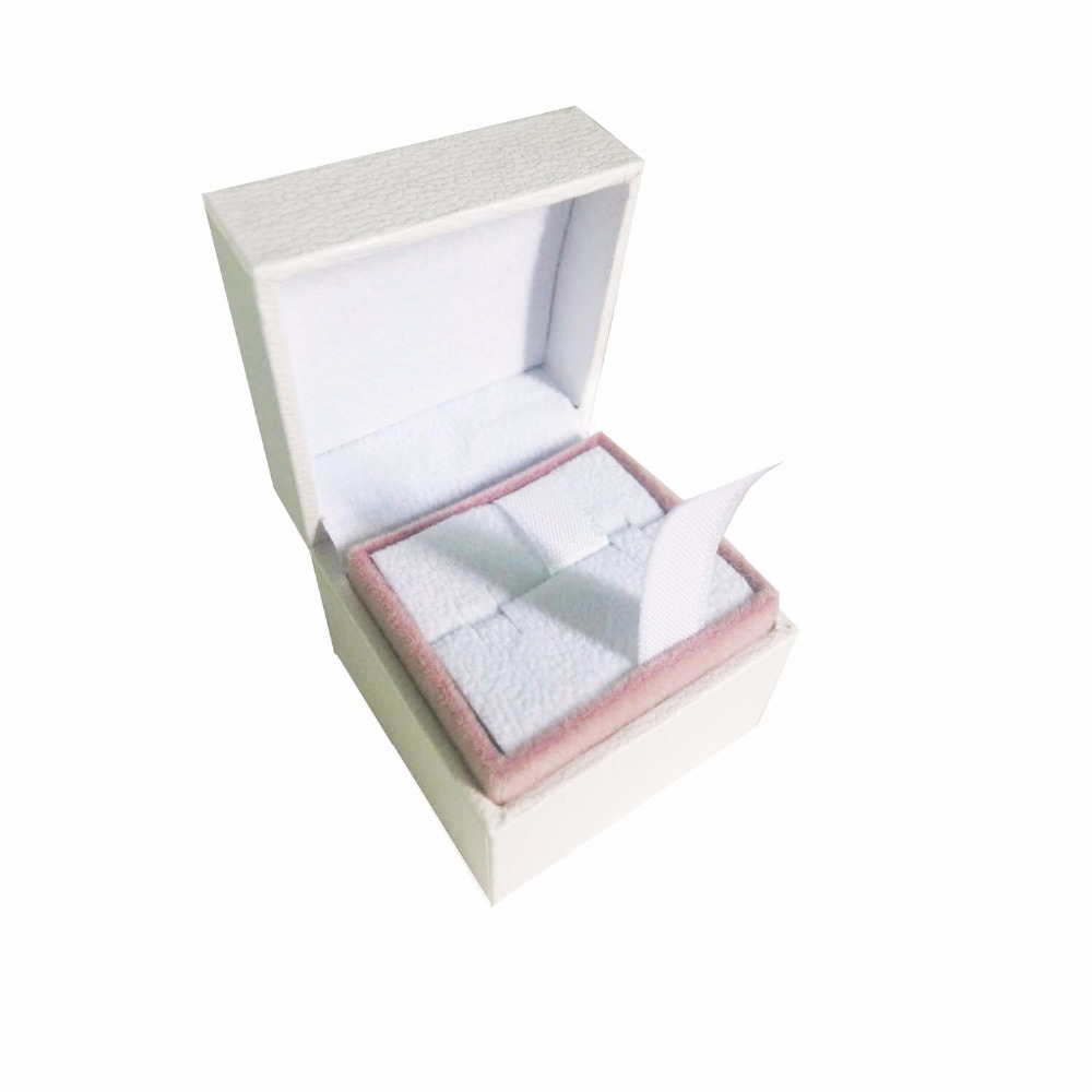 Ring earrings box 5*5*4 Compatible with charms Jewelry Velvet European Style Charm Beads Boxes Jewelry Gift Display Cases Boxes