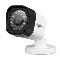 SANNCE 1/4 '' CMOS CCTV Kamera Gözetim 720 P 1.0MP Su Geçirmez Açık Video Kamera Güvenlik 24 IR LEDLER ABS Plastik kabuk