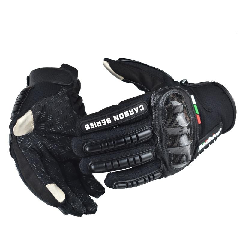 Madbike guanti da moto touch screen