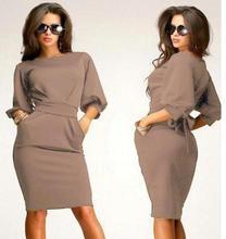 Vintage Casual Elegant Long Sleeve Dress