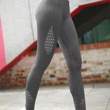 3e7ec732d9 Nepoagym mujer energía sin costuras barriga Control Yoga pantalones Super  elástico gimnasio medias de cintura alta