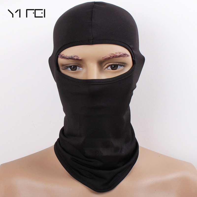 YIFE New Tactics Balaclava Hat Windproof Mask Quick-Drying Breathable Anti UV Soft Face Mask Motorcycle CS Tactics  outdoor