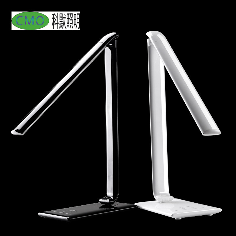 New hot 10W TZ-008K LED eye protection led desk lamp adjustable work study light dimmer desk lamp-book-reading led folding lamp icoco sensitive touch dimmer desk lamp eye care reading led fashion night light folding portable table lamp for office study new