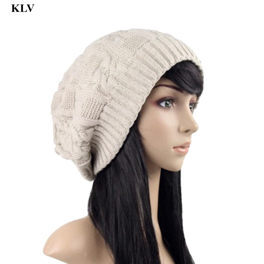 Autumn And Winter Hats Bonnet Thick Warm Cap Knitted Caps Men And Women Outdoor Ski Beanie Hat Crochet Hat Wool Knit Beanie Dec5 winter outdoor cycling caps bonnet femme women men winter warm ski knitted crochet baggy beanie hat skullies cap men hiphop hats