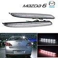 2x Mazda 6 ясно задний бампер из светодиодов обратного тормозного Mazda6 MPS Atenza / белый ( CA172 )