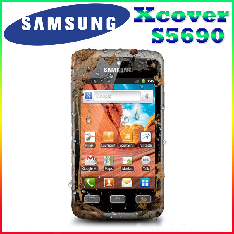 S5690 Original Unlocked Samsung S5690 3 65 Inches GPS GSM Bluetooth WIFI Android Refurbished Mobile Phone