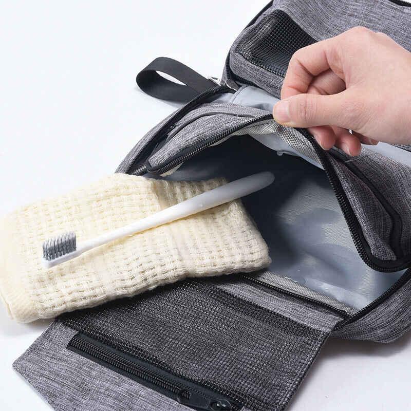 المهنية كبيرة حقيبة مستحضرات تجميل للماء التجميل حالة تخزين مقبض المنظم سفر كبيرة حقيبة