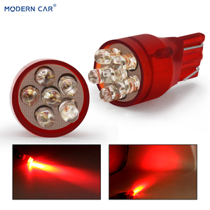Современный автомобиль T20 7443 580 4 светодиодный 5 светодиодный светильник для автомобиля красный 4 светодиодный 6 светодиодный лампа T20 7443 указ...
