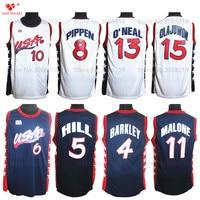 1996 Atalanta Usa Dream Team Usa Basketball Jersey Penny Hardaway Grant Hill Reggie Miller Charles Barkley