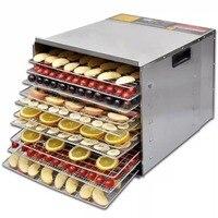 Nuevo 10 capas 1000 W deshidratador de alimentos secador de deshidratación fruta hierba vegetal máquina de secado
