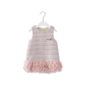 Image 5 - תינוק בגדי ילדים בנות חדש שנה בגדי ילדים שמלות בנות בנות אופנה 2019 חדש חמוד טלאים וסטים שמלת נסיכה