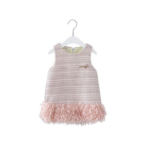 Image 5 - Baby Clothes Kids Girls New Year Clothing Kids Dresses for Girls  Girls Fashion 2019 New Cute Patchwork Vests Dress Princess