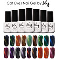 Bling beauty Cat Eyes Colorful Soak Off UV Gel Nail Long-lasting Polish Magnetic Cat Eyes Gel Lacquer