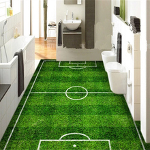Custom Photo Wallpapers for Walls 3D Football Field Wall Murals for Children Bedroom Living Room Wall Papers Home Decor Painting 3d stereoscopic wallpapers for walls 3d custom photo cartoon pattern wall papers kids room murals livimg room home decor flowers