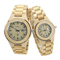 BEWELL Wood Wristwatches Womens watches top brand luxury Lover's Quartz Watches With Box 100A 1-piece