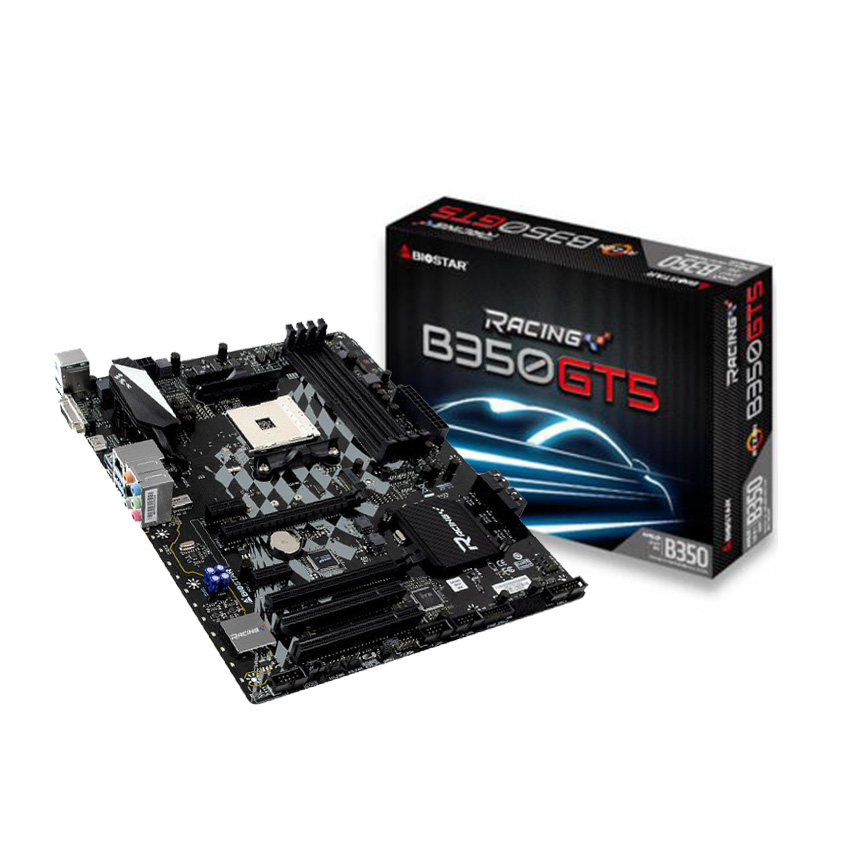 BIOSTAR Brand New High Quality 1PCS B350GT5 AM4 Motherboard B350 M.2 for RYZEN 1700 1600X for Desktop Computer Motherboards
