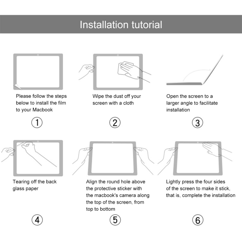 Protetores de tela p/ tablet