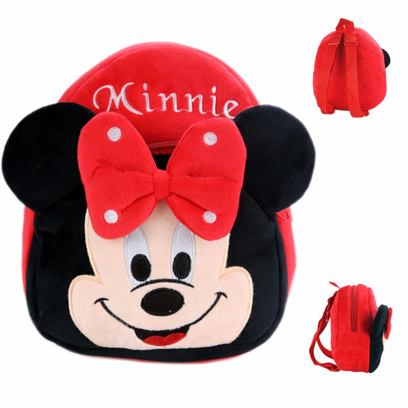3D Cartoon School Bag Kids Plush Backpacks Mini schoolbag Child Plush Backpack Children School Bags Girls Boys Backpacks in School Bags from Luggage Bags