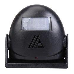 Wireless Chime Door Bell Motion Sensor Doorbell 16 Tune Songs White Home Office Security Use Smart Door Bell