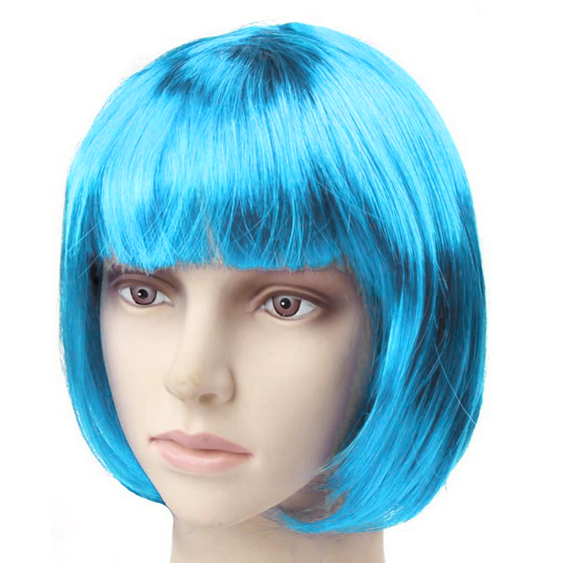 Halloween wigs Masquerade supplies cool colorful hand weaving high temperature wire   headwear   creative wild   headwear