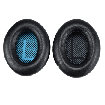 Sheepskin Leather Replacement Memory Foam Ear pads for BOSE QC25 QC15 QC35 Headphones