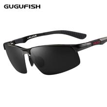 GUGUFISH Aluminum magnesium polarized sunglasses male Fishing glasses leisure polarized fishing eyewear ride sunglasses eyewear