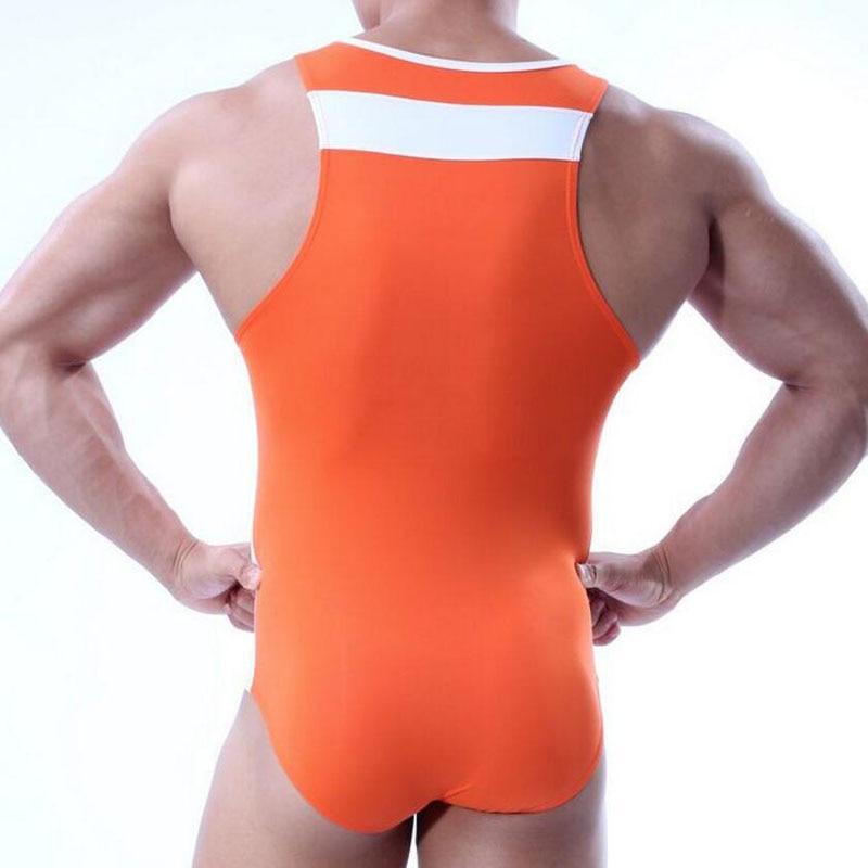 KWAN.Z men's bodysuit shaper tights for men brave person corsets vest korse erkek body shaper men tshirt underwear men