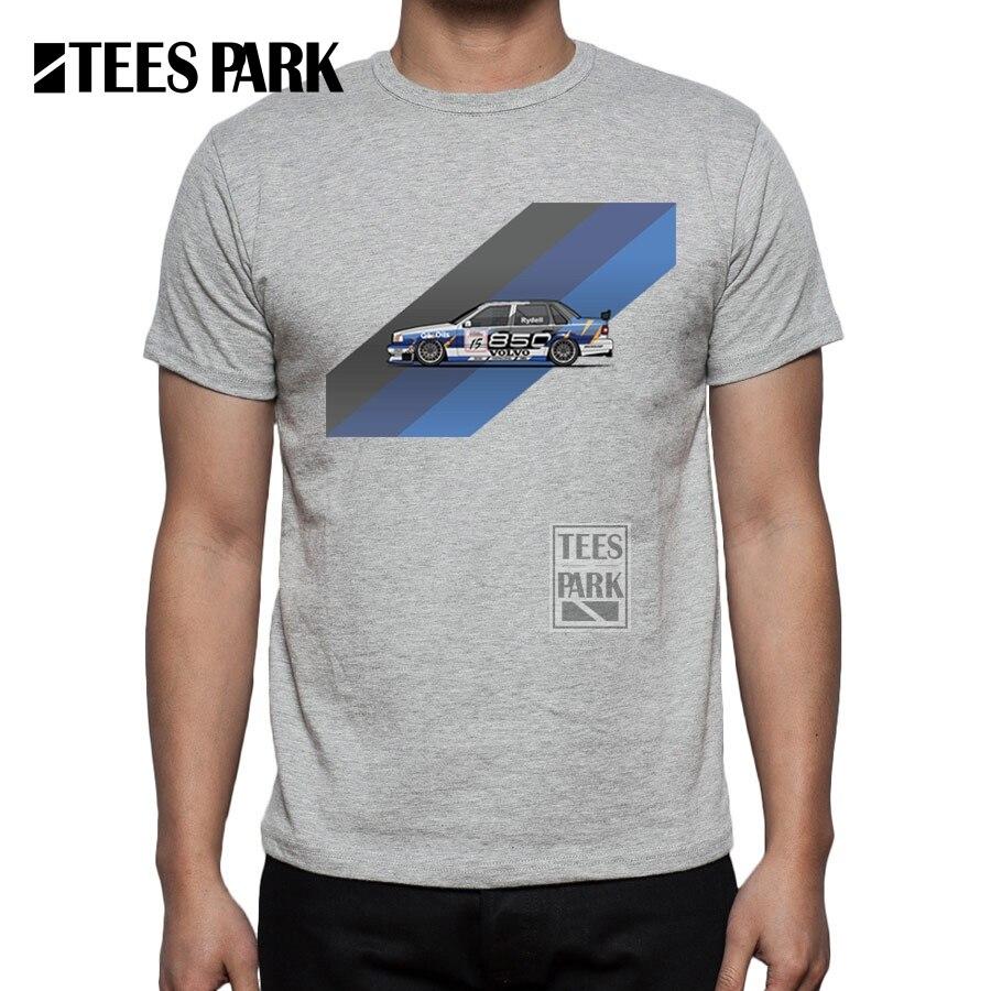 Gt86 design t shirts men s t shirt - Spiercar Men T Shirt Turbo Tops Men S Cotton Short Sleeve Volvo Wagon 850 Car T Shirts Summer O Neck T Shirt For Male Clothing