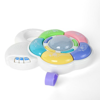 New Musical Sleeping Bed Bell Toy Early Educational Musical With Lighting Baby Music Box Toy For