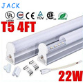X50 AC 85-265V T5 1200mm Integrated 4FT LED Tube Light Lamp 96pcs SMD 2835 High Power 22W Warm/Natural/Cool White