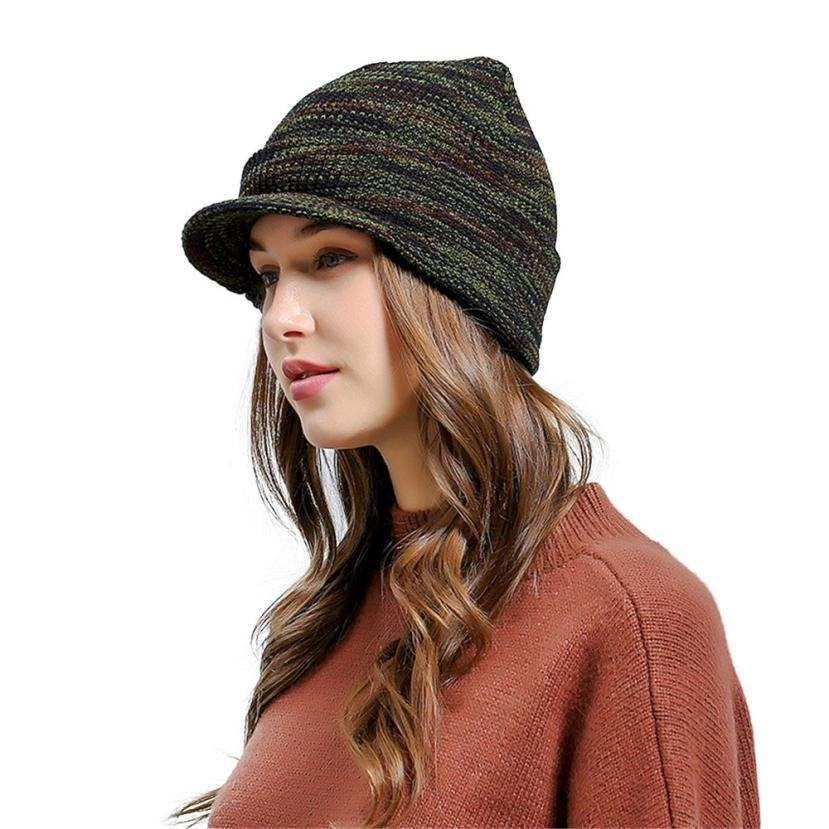 New Fashion Men Women Warm Caps Baggy Warm Crochet Winter Wool Knit Ski Beanie Skull Slouchy Caps Hat breathable mesh Hat