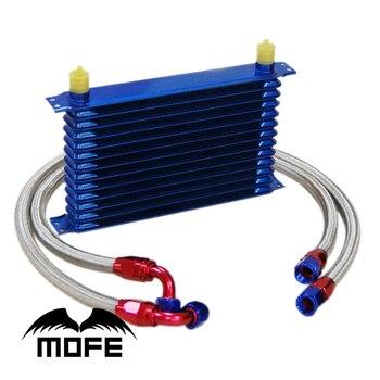 Специальное предложение AN-10AN двигатель Transmisson 13-рядный масляный радиатор с плетеными масляными линиями из нержавеющей стали + Масляный филь...