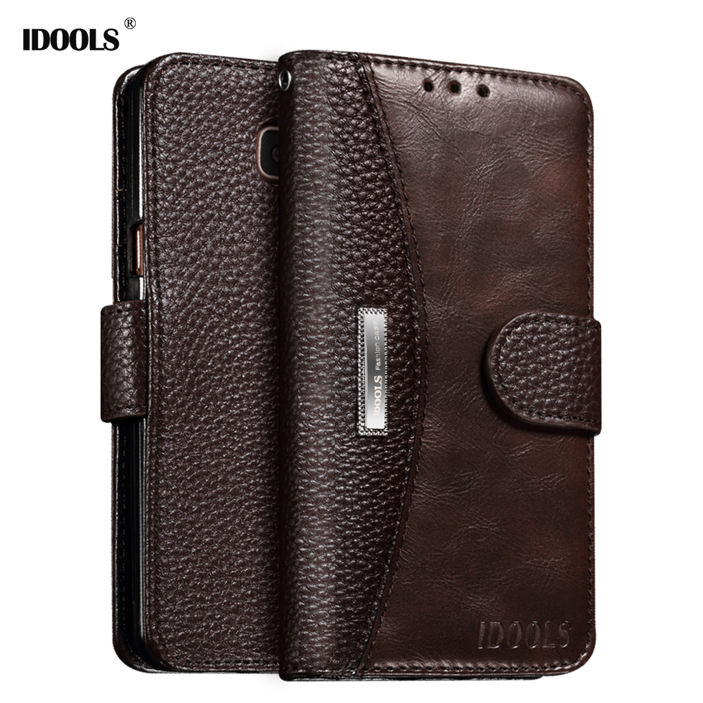 For Samsung Galaxy A5 2017 Case Cover 5.2 Inch IDOOLS Brand Luxury PU leather Phone Bags Cases for Samsung A5 2017 A520F A5200