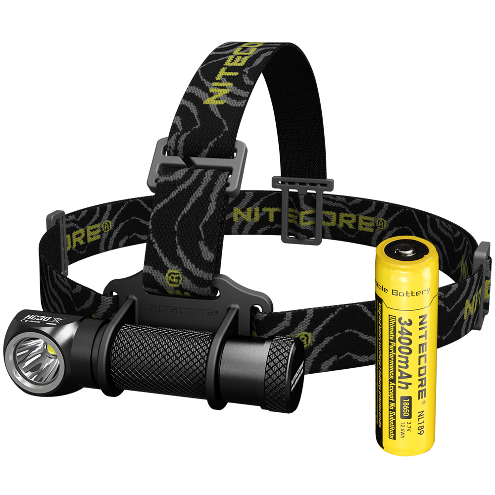 Top Sales NITECORE HC30 Headlamp CREE XM L2 U2 1000 Lumen Waterproof Flashlight Torch 18650 Rechargeable