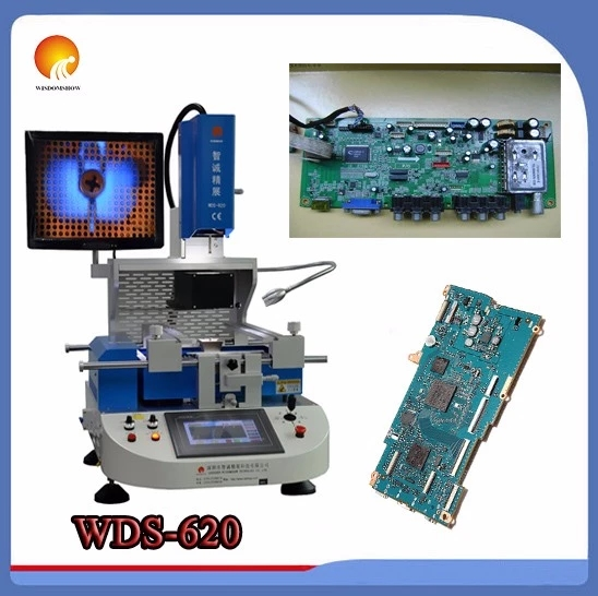WDS-620 <font><b>Automatic</b></font> infrared <font><b>bga</b></font> <font><b>rework</b></font> <font><b>station</b></font> / PCB Motherboard Repair Soldering Machine For Laptops Phone IC Repair image