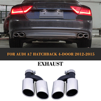 Stainless steel car exhaust muffler for audi a7 Standard Hatchback 4 Door 2012-2015