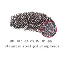 FreeShipping 3mm Stainless Steel Round Polishing Ball Stainless Steel Burnishing Ball Jewelry Tumbling Media 452g