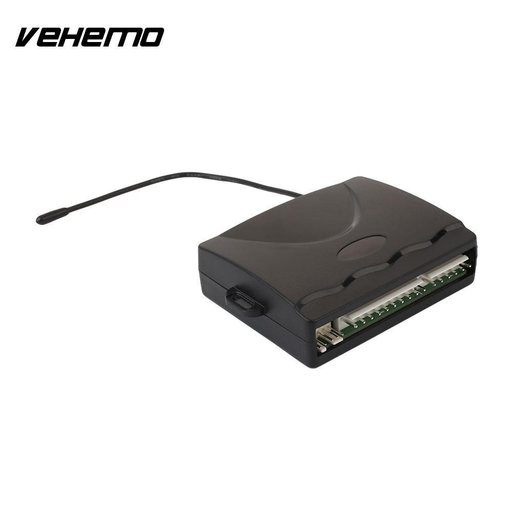 Système d'alarme antivol serrure centrale système de sécurité automatique électronique de voiture accessoires de voiture télécommande universelle