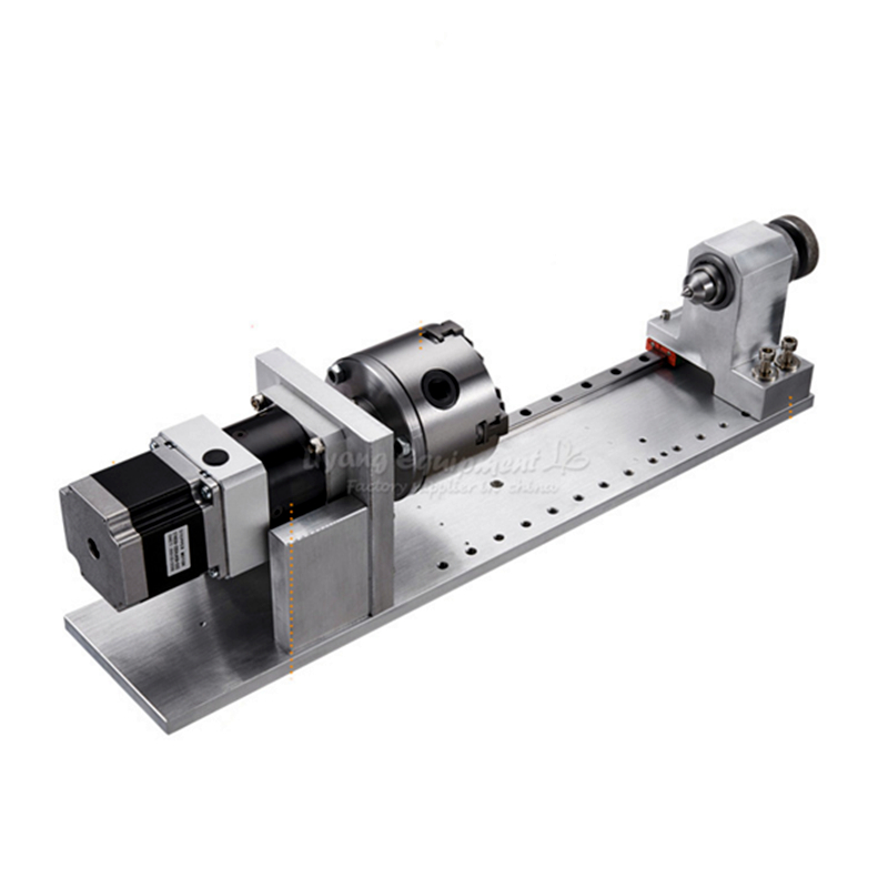 CNC Accessories 4th Axis Planetary Reducer Rotating Shaft A Axis CNC Dividing Head For Cnc Router