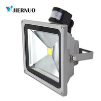 New PIR Motion Sensor LED Flood Light Advertising Light 10W 20W 30W 50W LED Floodlight Detective